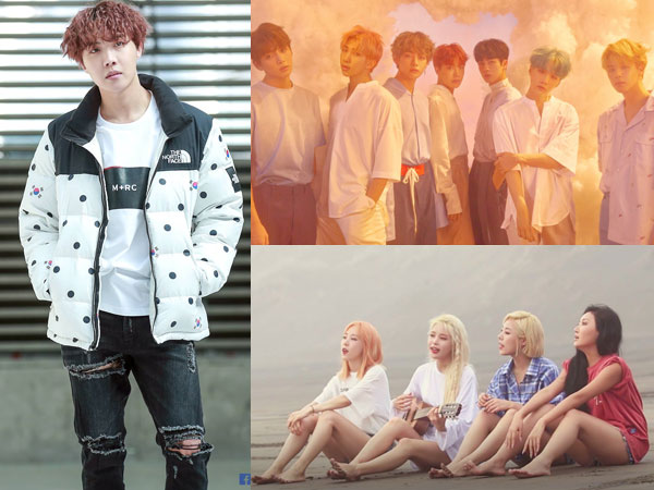 J-Hope dan BTS Bertahan, MAMAMOO Debut di Chart Billboard World Albums