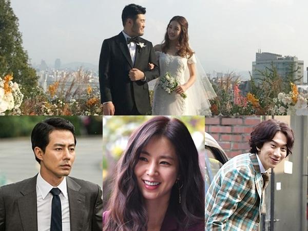 Gaya 'Genk Kece' Jo In Sung Hingga Lee Sung Kyung Ramaikan Pesta Pernikahan Sahabat