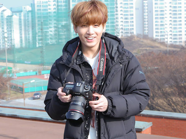Bikin Video Keren Bak Vlogger, Jungkook BTS Ngaku Belajar Otodidak