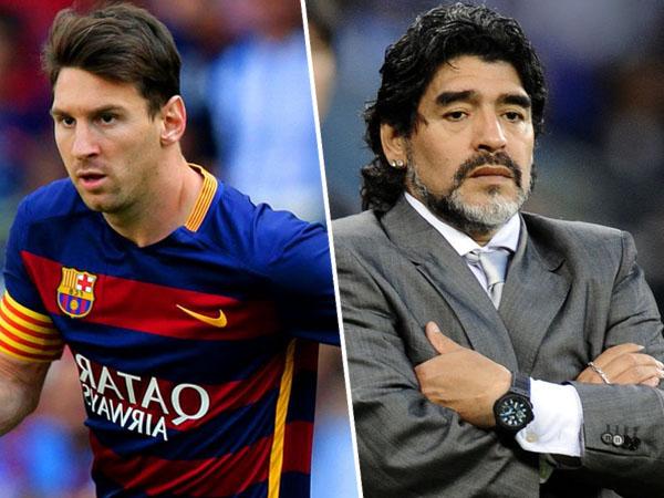 Sering Dibandingkan dengan Lionel Messi, Ini Jawaban Maradona
