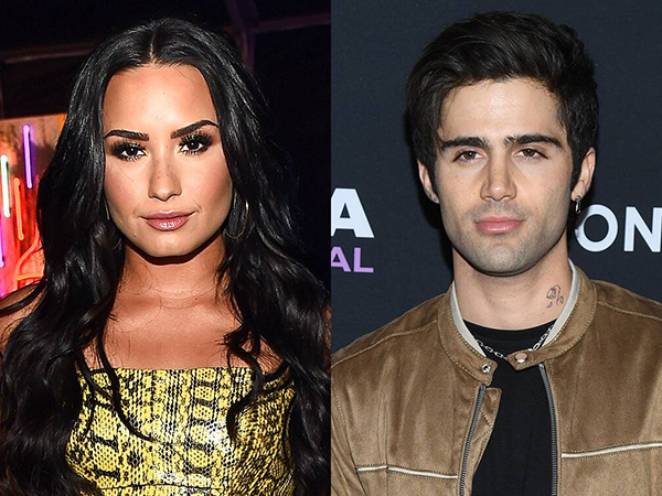 Terkejut, Max Ehrich Tahu Kabar Putus dengan Demi Lovato dari Media
