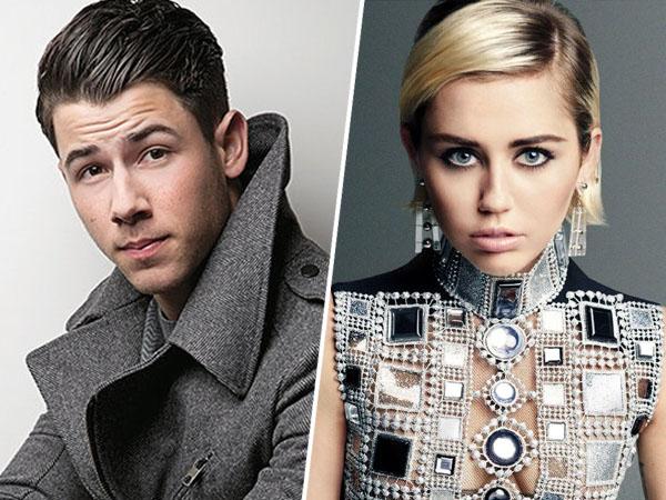 Pernah Berpacaran, Nick Jonas Curhat Rasanya Ciuman Pertama dengan Miley Cyrus