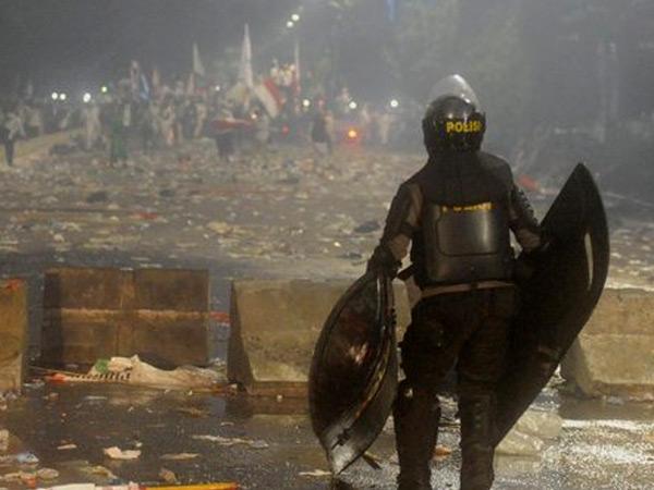 5 Orang Terduga Pelaku Kericuhan Demo 4 November Resmi Jadi Tersangka