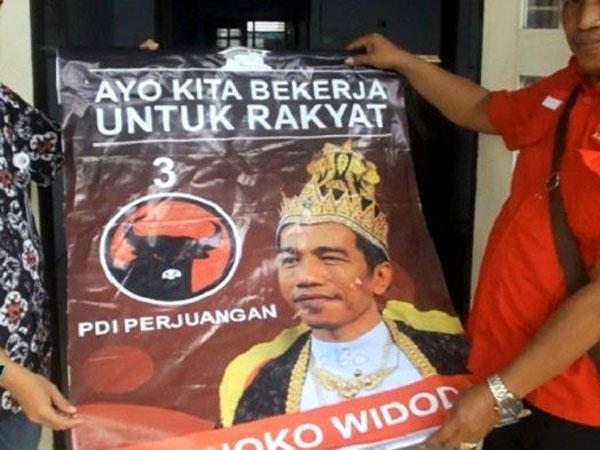 'Disuruh Pusat' hingga Uang Fantastis, Begini Temuan PDI-P dari Pelaku Pemasang Poster 'Raja Jokowi'