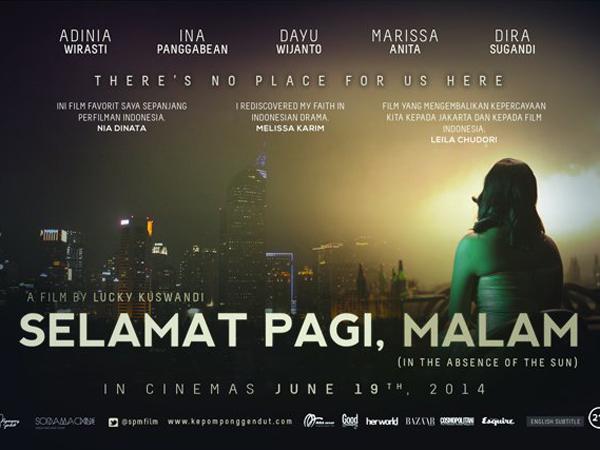 Keren, Film Indonesia 'Selamat Pagi, Malam' Masuk dalam Tokyo Internasional Film Festival 2014!
