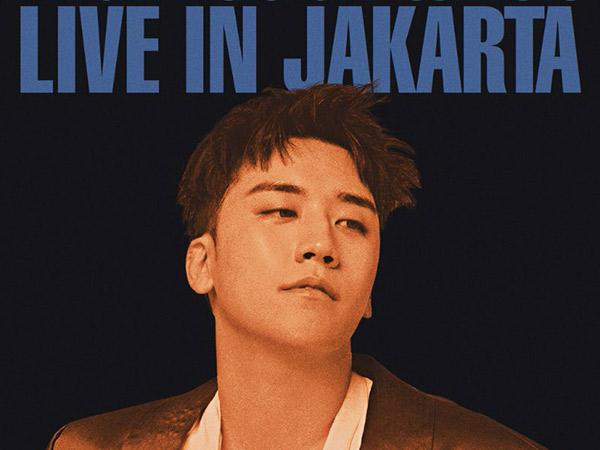 Seungri Umumkan Bakal Konser Solo di Jakarta Bulan Depan!