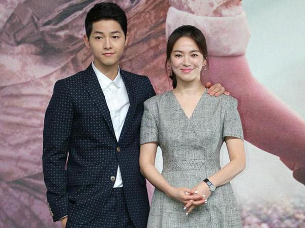 Tanggapan Agensi Soal Isu Song Joong Ki dan Song Hye Kyo Liburan Bareng di Bali