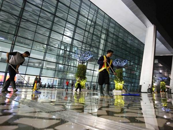 Baru Beroperasi, Terminal 3 Bandara Soekarno-Hatta Sudah Banjir Akibat Hujan Deras
