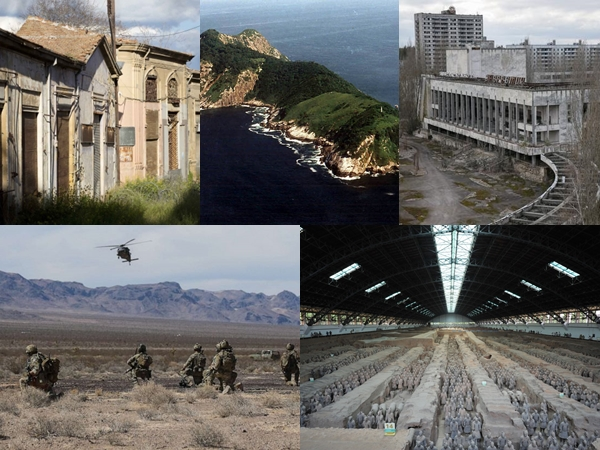Deretan Tempat Terlarang Di Dunia, Salah Satunya Menyimpan Sejarah Masa Lalu (Part 1)