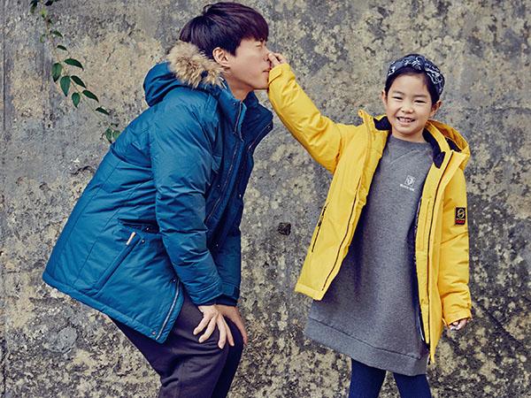 Tengok Gemasnya Pemotretan Musim Dingin Haru dan Tablo untuk Marie Claire