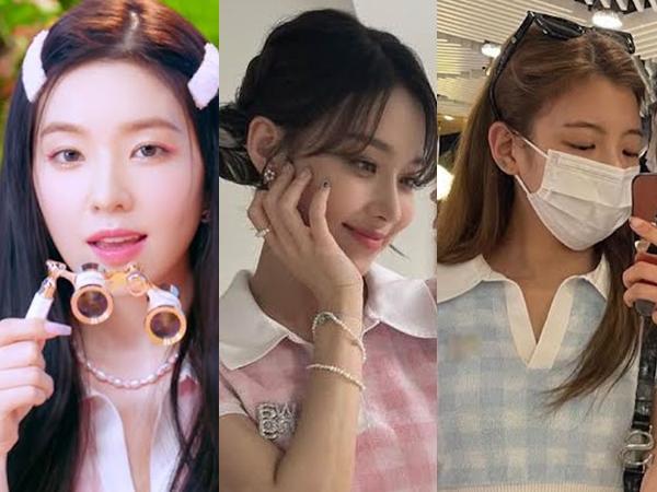 Irene Red Velvet, Lia ITZY, dan Winter aespa Kenakan Crop Top Kembar, Mana Favoritmu?