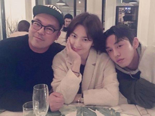 Hangout Bareng, Song Hye Kyo dan Yoo Ah In Kembali Tunjukkan Kedekatannya!
