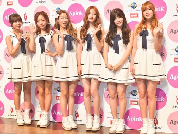 Gelar Showcase Debut, A Pink Sukses Curi Perhatian Ribuan Fans dan Media Ternama Jepang!
