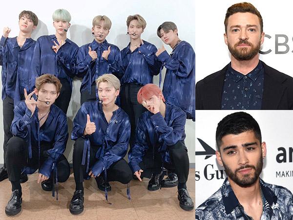Boy Group ATEEZ Gabung ke Label Musik Justin Timberlake hingga ZAYN