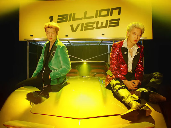 EXO SC Tampil Funky dan Kekinian di MV Comeback '1 Billion Views' Featuring MOON