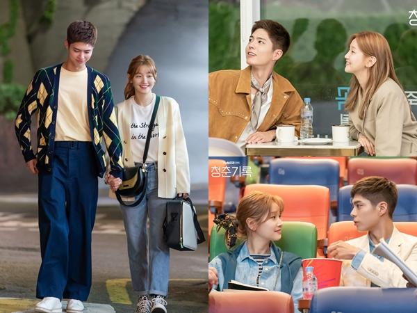 Inspirasi Couple Look Ala Park Bo Gum dan Park So Dam
