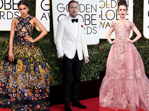 Cantik dan Gagah, Inilah Selebriti dengan Penampilan Red Carpet Terbaik di 'Golden Globes 2017'!