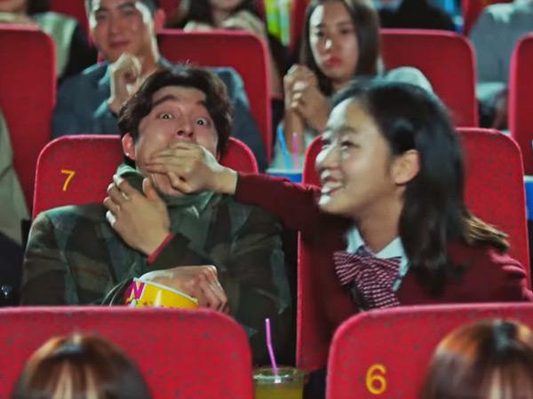Nonton Film 'Train to Busan', Kocaknya 'Goblin' Gong Yoo Ketakutan Lihat Zombie