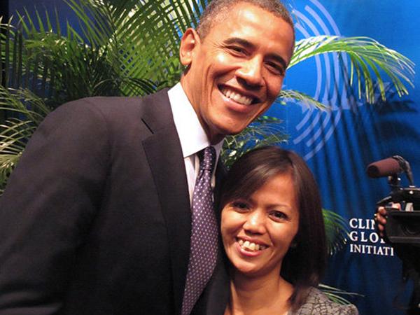 Bangga, Mantan TKI Ini Jadi Pembicara Sekaligus Penasehat Obama di Konvensi Partai Demokrat Amerika!