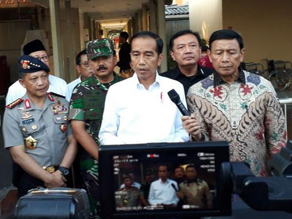 Korban Tewas Bertambah, Ini Pernyataan Lengkap Jokowi Soal Bom Bunuh Diri di 3 Gereja Surabaya