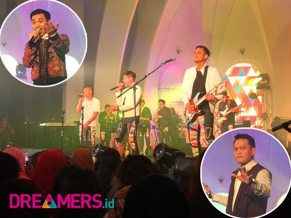 Curhat 'Baper' Sampai Lucky Fans Buat Histeris Konser Anniversary 'KahitRAN'