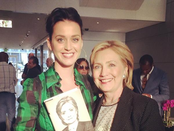 Lagu 'Roar' Katy Perry akan Dijadikan Lagu Kampanye Calon Presiden Amerika Serikat?