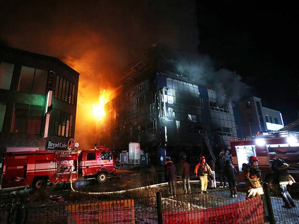 29 Orang Tewas Akibat Kebakaran Hebat di Sebuah Sauna di Korea Selatan