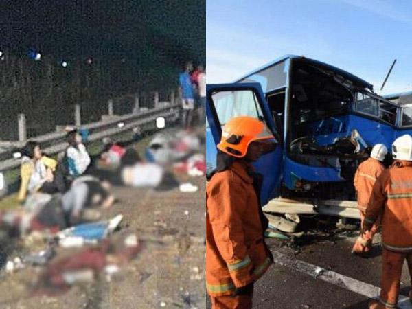 Live Facebook Terakhir TKW yang Jadi Korban Tragedi Kecelakaan Maut Malaysia