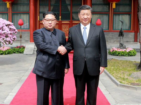 Ucapan Manis Kim Jong Un Saat Jadi 'Juru Damai' di Pertemuan Perdana dengan Presiden Cina