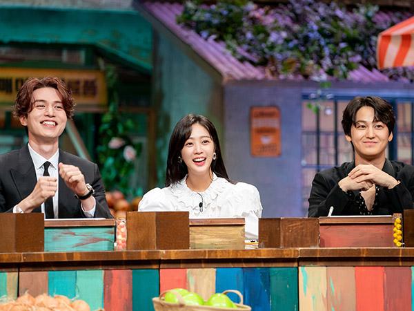 Dihadiri Lee Dong Wook cs, Rating Variety 'Amazing Saturday' Melonjak Drastis
