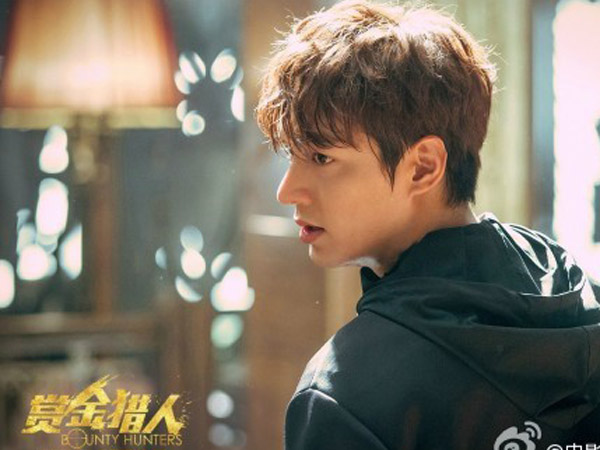 Film 'Bounty Hunters' Tunjukan Ketampanan Ala Bad Boy Lee Min Ho di Foto Teaser!