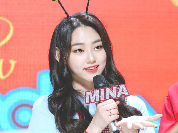 Mina gugudan Mundur dari Posisi MC 'Music Core' Setelah 2 Tahun
