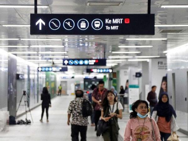 Wah, Ini Lho Alasan Mengapa di Stasiun MRT Jakarta Minim Tempat Sampah