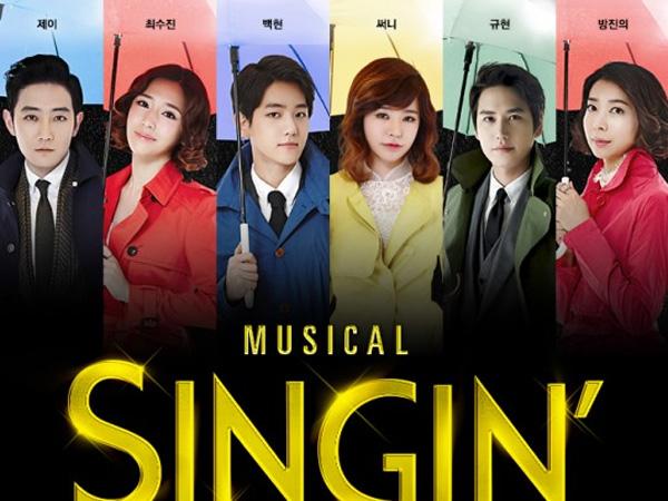 Kyuhyun, Baekhyun, dan Lainnya Tampil Menawan di Trailer Perdana 'Singin' In The Rain'
