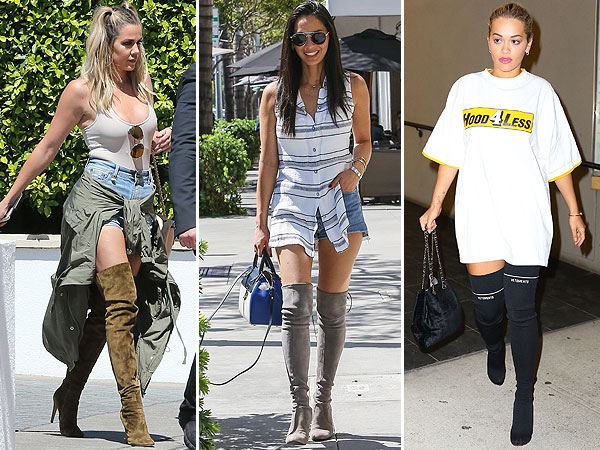 Gaya Fashion Musim Panas 3 Selebriti dengan Over-the-Knee Boots, Siapa Termodis?