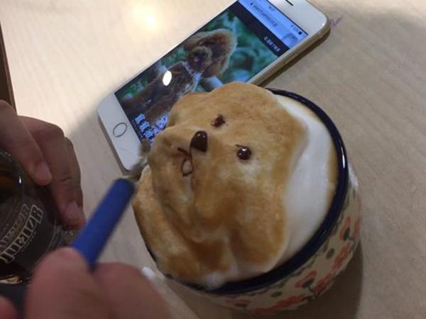 Seruput Nikmatnya Secangkir Latte dengan Desain 3 Dimensi yang Menggemaskan Ini