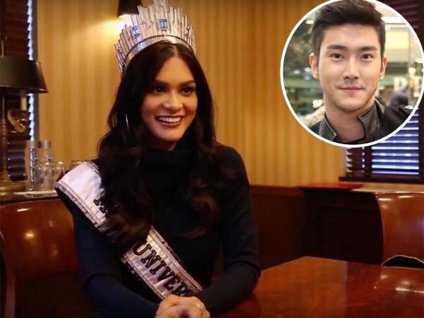 Pia Wurtzbach Akui Siwon Super Junior Makin Ganteng Pada Media New York