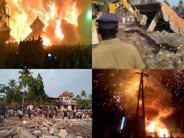 Nyalakan Kembang Api, Kebakaran di Candi India Tewaskan Puluhan Orang
