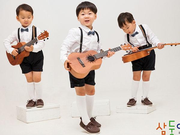 C-JeS Entertainment Unggah Foto Gemas Daehan, Minguk dan Manse yang Sedang Rekaman?