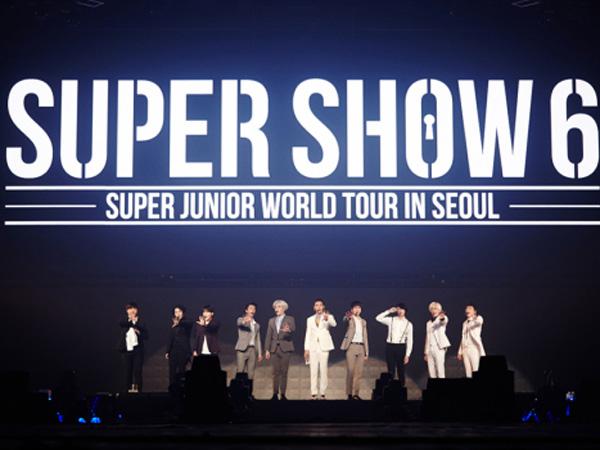 Sukses Gelar 100 Pertunjukan Konser, Super Junior Catat Sejarah Baru di Industri K-Pop!