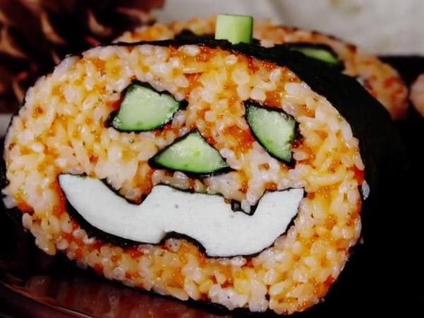 Yummy! Yuk Sambut Halloween dengan Sajian Sushi Unik Ini