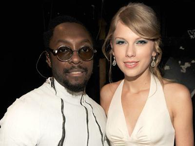 Kerjakan Proyek Musik Fenomenal, Will.i.am Bakal Gaet Taylor Swift!