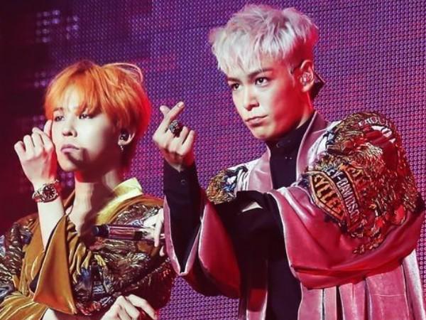 Sudah Selesai Wamil, G-Dragon dan T.O.P Saling Bertukar Pesan Manis