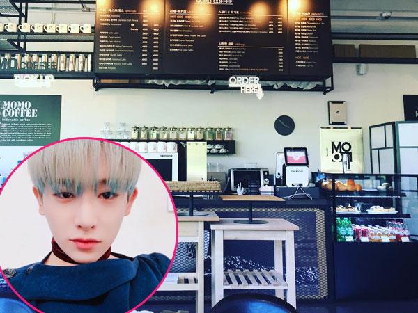 Yuk, Bersantai Sambil Minum Kopi di Kafe 'Momo Coffee' Milik Wonho Monsta X!