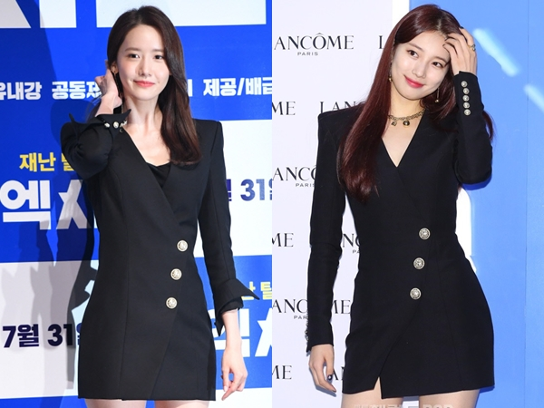 Black Dress Kembar YoonA SNSD vs Suzy, Who Wore It Better?