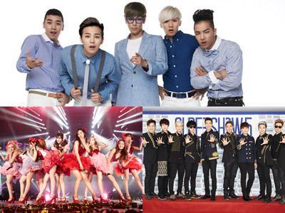 Tiga Grup K-Pop Ini Jadi Grup K-Pop Paling Terkenal di Luar Negeri!