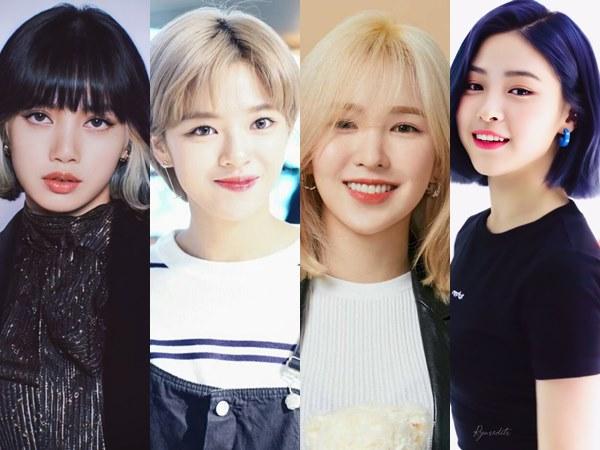 Deretan Idol K-Pop Wanita yang Terkenal dengan Gaya Rambut Pendek