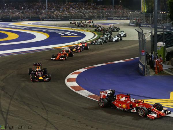 Gemerlap Di Malam Hari, Ajang F1 Di Singapura Justru Siksa Pembalap