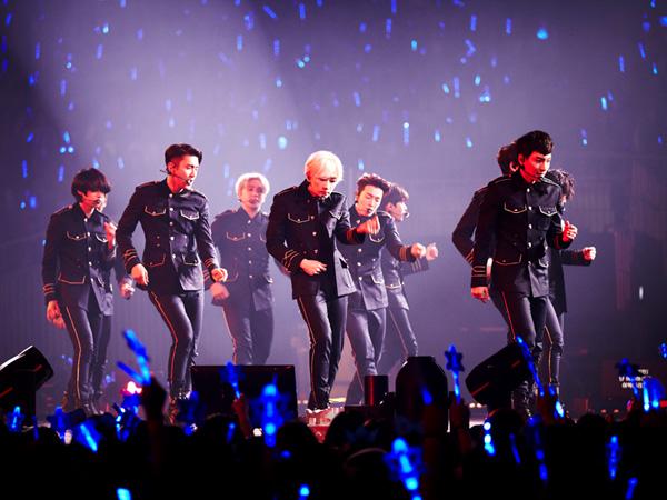 Ini Jumlah Penonton dan Jarak Tempuh Super Junior di Sepanjang Rangkaian Super Shownya