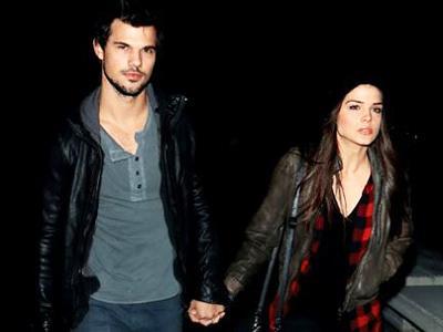 Lama Tak Muncul, Taylor Lautner Pamer Kemesraan Dengan Sang Pacar!